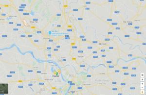 Eristetty Sơn Lôi alueen sijainti